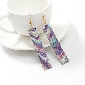 Jewelry - ***3/$20~Glitter Bar Earrings***